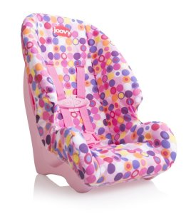 3. Joovy Doll Or Stuffed Toy Booster Seat Dot Pink