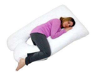 8. Blowout Bedding U Shaped Maternity Pillow