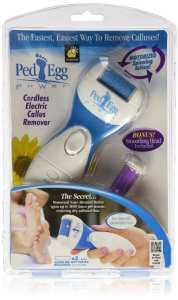 9. Ped Egg Power Foot Callus Remover