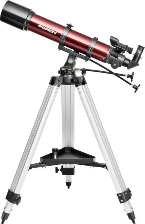 10. Orion StarBlast 90mm Altazimuth Travel Refractor Telescope