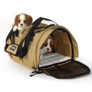 2. SturdiBag Divided Large Pet Carrier, Large Divided Pet Carrier 2 in 1 Pet Carrier Tote