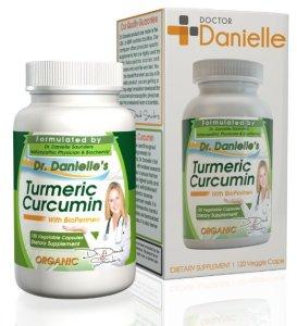 3. Organic Curcumin (Turmeric) with Bioperine