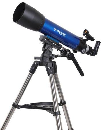 4. Meade Instruments Infinity 102 AZ Refractor Telescope (Blue)