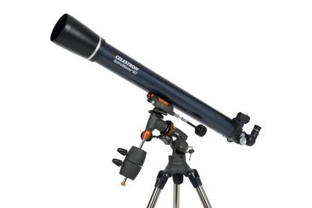 7. Celestron AstroMaster 90 EQ Refractor Telescope