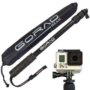 7. Gorad Gear Selfie Stick for GoPro Cameras