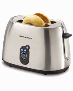 7. Hamilton Beach 22502 Digital 2-Slice Toaster