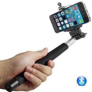 8. Selfie Stick Bluetooth Monopod - Extendable Wireless Bluetooth Control