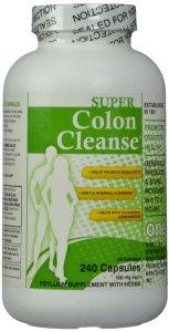 8. Super Colon Cleanse, 500mg, 240 capsules