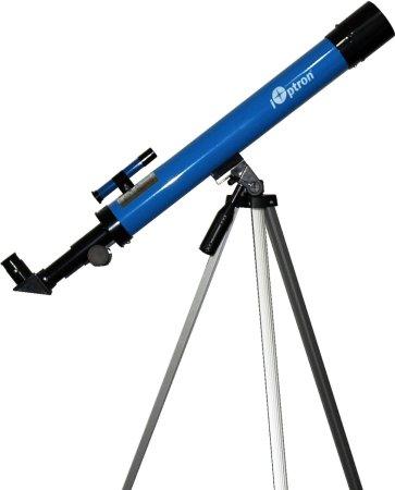 9. iOptron iExplore 50AZ Refractor Telescope (Blue)