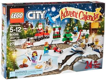 4.LEGO City Town 60099 Adventure Calendar Building Kit