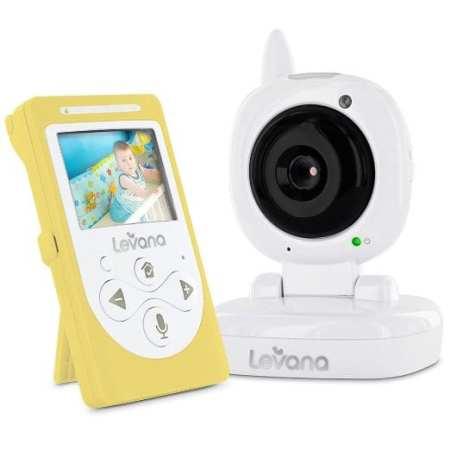 8. Levana Sophia Digital 2.4-Inch Video Baby Monitor