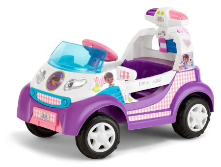 8. Power Wheels Barbie Volkswagen New Beetle