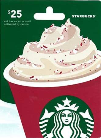 4.Starbucks Gift Card