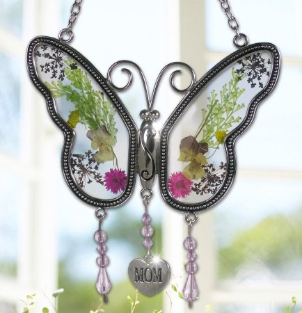6.Banberry Designs Mom Butterfly Mother Suncatcher