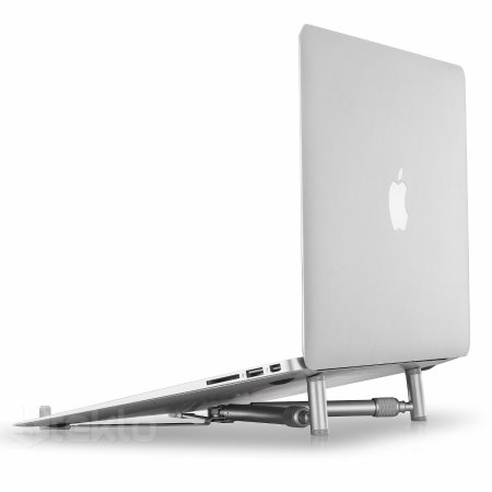 8. Steklo - X-Stand for MacBook and PC Laptop, Aluminium