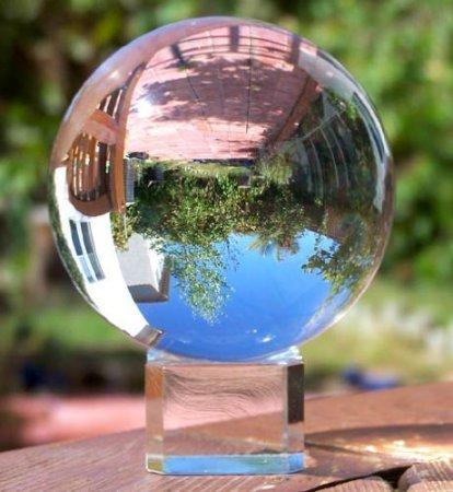 8.Amlong Crystal Meditation Ball Globe