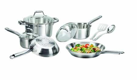 2.Top 10 Best Stainless Steel Cookware Set Review in 2016