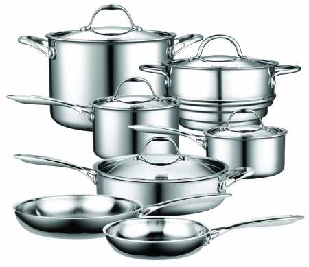 3.Top 10 Best Stainless Steel Cookware Set Review in 2016