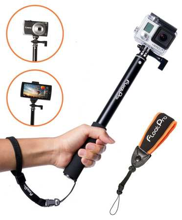 6.The Best Waterproof Selfie Stick for GoPro Review 2016