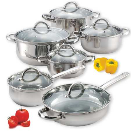 6.Top 10 Best Stainless Steel Cookware Set Review in 2016