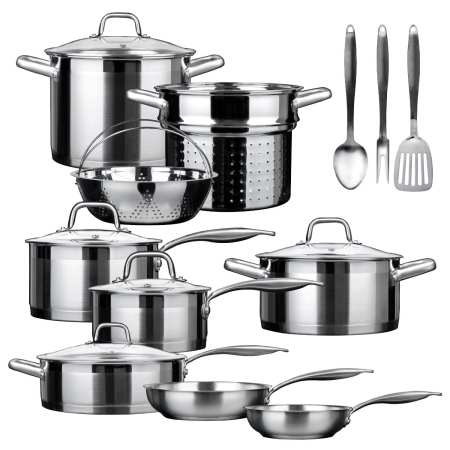 9.Top 10 Best Stainless Steel Cookware Set Review in 2016