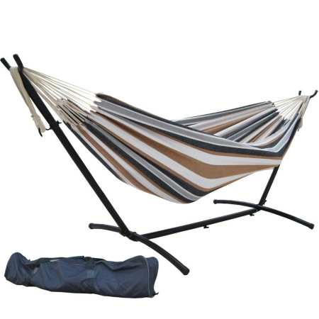 9.Top 10 Best Hammock with Space-Saving Steel Stand Review
