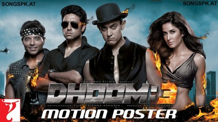 1.Dhoom 3: Back in Action Bollywood Movies