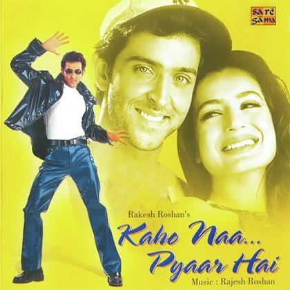 10) Ek Pal Ka Jeena from Kaho Naa...Pyaar Hai