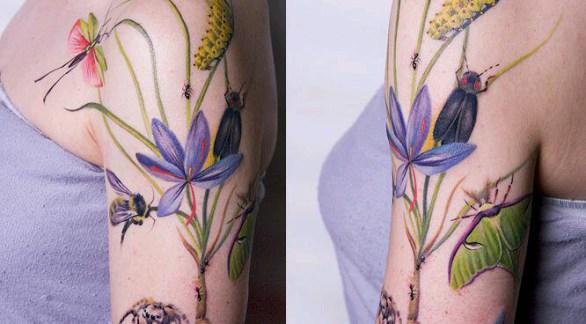 Top Ten Latest Wild Girls Back Side Tattoos Designs