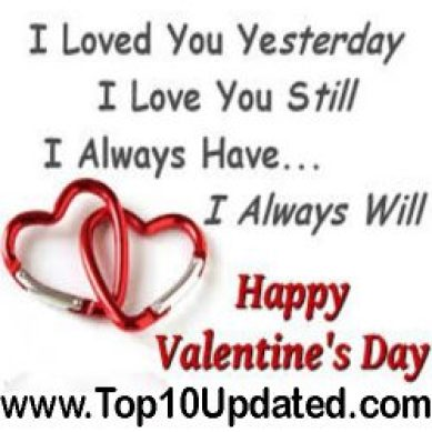 Happy Valentine's Day Wishing Quotes