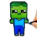 Easy Kids Coloring Mineblox