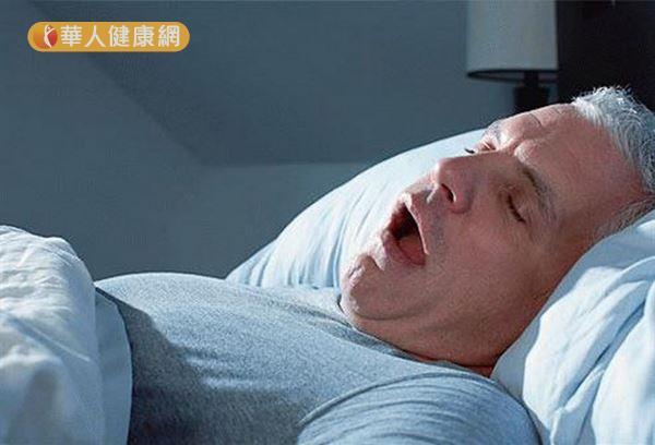 睡眠時張口呼吸與呼吸過量,是打鼾、睡眠呼吸中止症與睡眠障礙者的共同特徵。