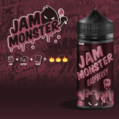 نكهة فيب- Jam Monster Raspberry