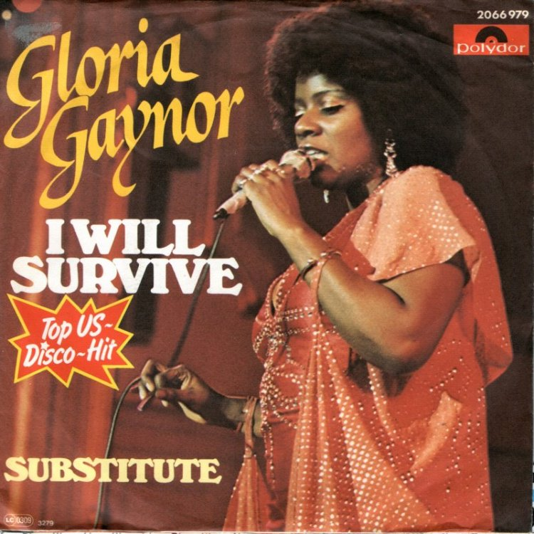 I WILL SURVIVE - Gloria Gaynor record cover