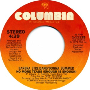 donna-summer-and-barbra-streisand-no-more-tears-enough-is-enough-columbia