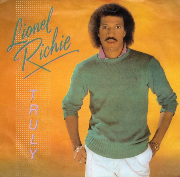 Lionel Richie Truly record cover