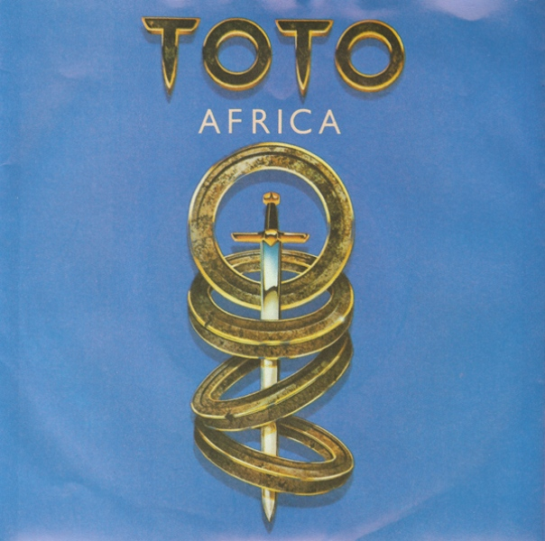 Toto Africa record cover