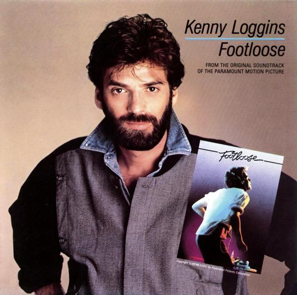 Kenny Loggins Footloose record cover