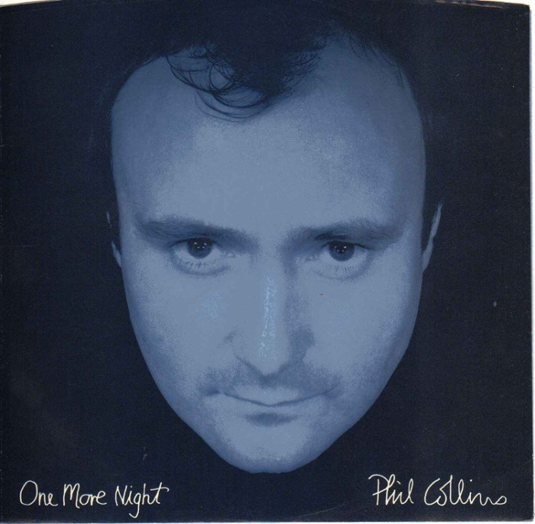 Phil Collins One More Night record cover