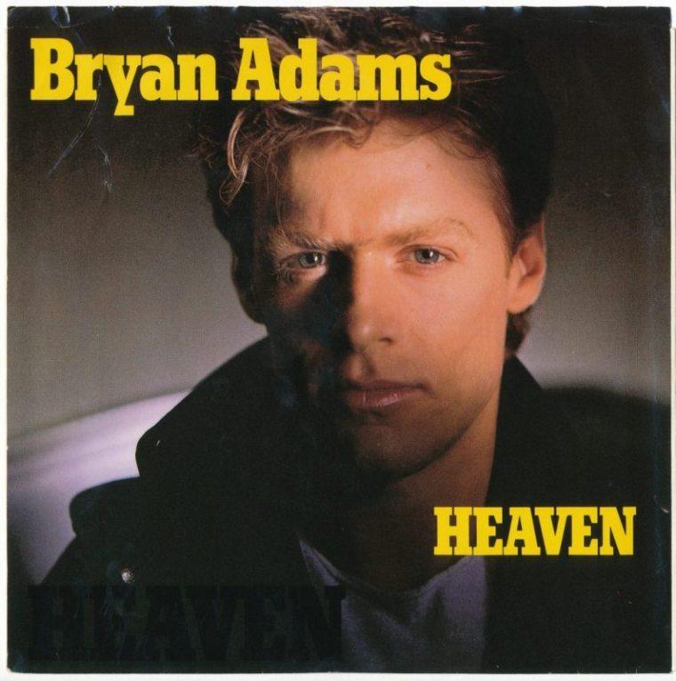 Bryan Adams Heaven record cover