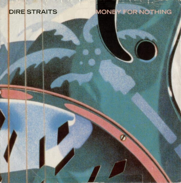 Dire Straits Money For Nothing record cover