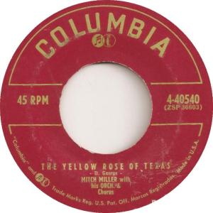 mitch-miller-and-his-orchestra-and-chorus-the-yellow-rose-of-texas-columbia