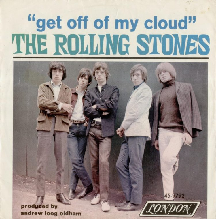 The Rolling Stones - Get Off My Cloud record cover