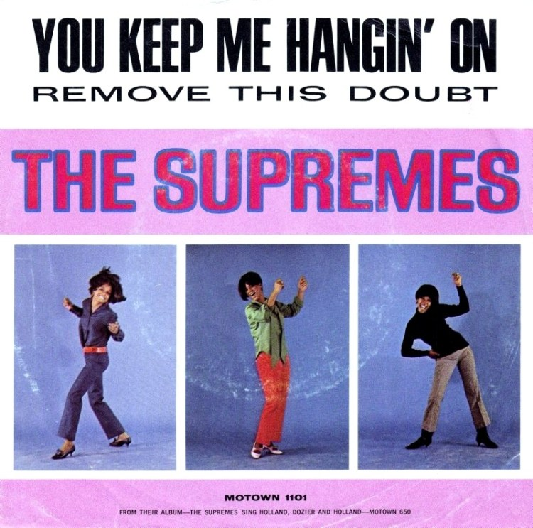 The Supremes - You Keep Me Hangin' On record cover