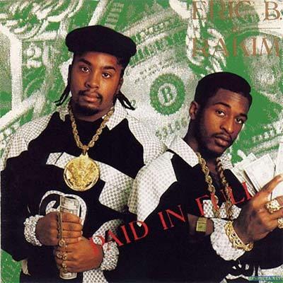 80's rap duo Eric B. and Rakim circa 1980's
