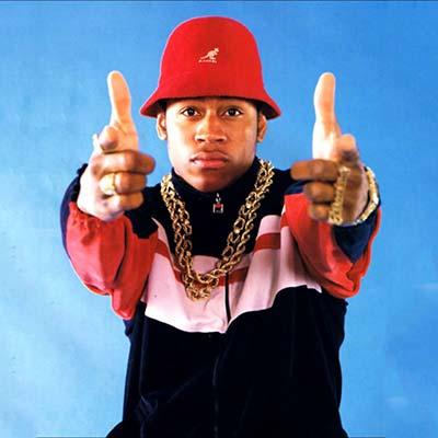 L.L. Cool J promo picture circa 1988