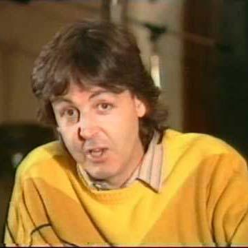 Paul McCartney circa 1983