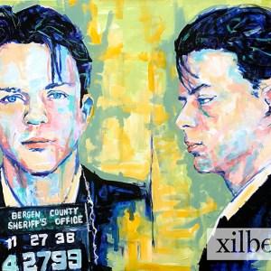 Frank Sinatra Mug Shot Painting Product Image