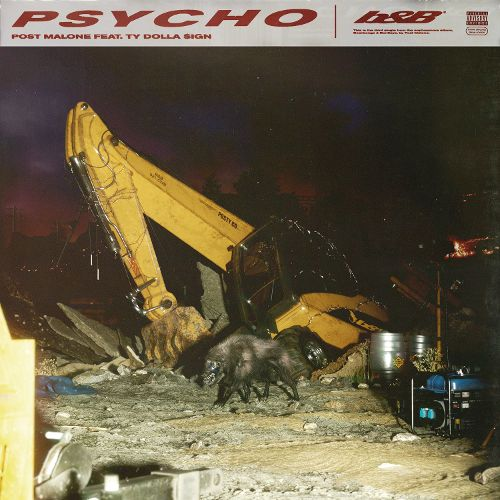 PSYCHO - Post Malone featuring Ty Dolla Sign Album Cover