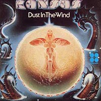 Kansas - Dust in the Wind record cover